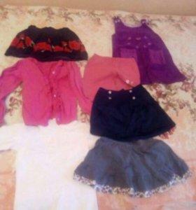 3 пакета вещей для девочки