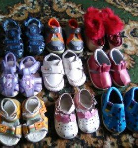 Обувь новая 10 размер от 150-550