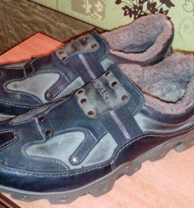 Поло ботинки зима
