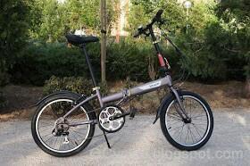 Велосипед складной hoptown 5 B'twin