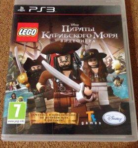 Игра для PS3 Пираты Карибского моря Лего