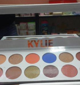 KylieТени 12 цветов брови,глаза