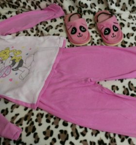 Пижама+тапочки