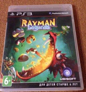 Игра для PS3 Rayman Legens