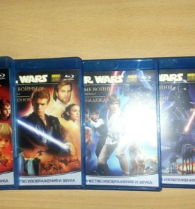 Blu-ray диски Звёздные войны (Star Wars)