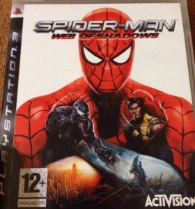 Игра для PS3 Spider Man web of shadows