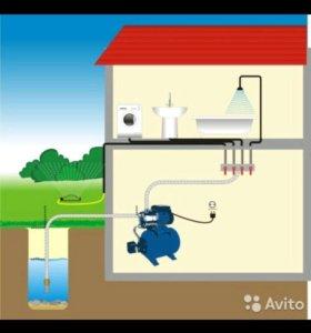 Водопровод 🚿 дачный, автоматический