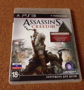Игра для PS3 Assasins cred 3