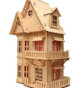 """Кукольный домик """"чудо дом"""""""