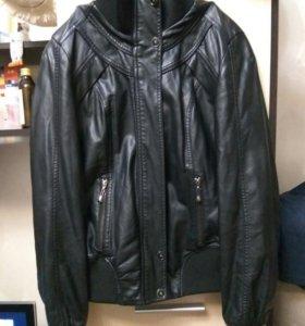 Кожаная куртка 42-46