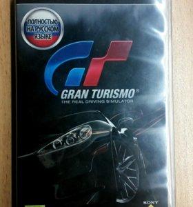 Игра на PSP Gran Turismo