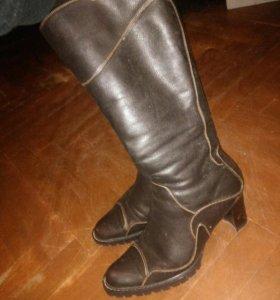 Сапоги зимние кожа 37 размер Carnaby