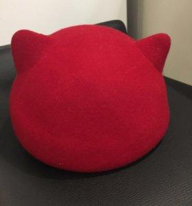 Новая  шляпа с ушками Mascotte