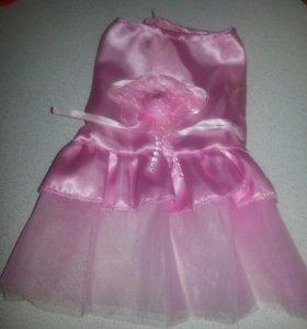 Платья для щенка или маленькой сабачки