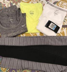 Спортивная одежда майки леггинсы размер М