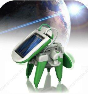 Игрушка-конструктор 6 в 1 на солнечных батареях