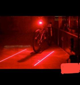 Лазерный свет для велика