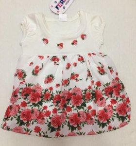 Платье для девочки (р. 68-74)