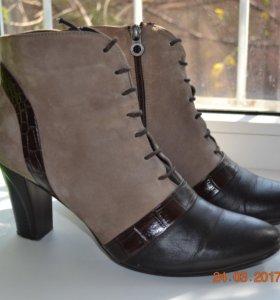 Ботинки кожа натуральная(мех)