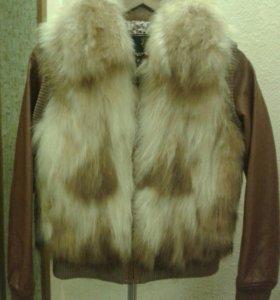 Куртка меховая -мех лиса