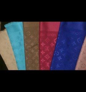 Платки Louis Vuitton и Gucci