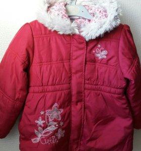 Куртка (весна) размер 98