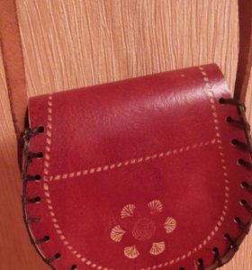 Новая кожаная сумочка
