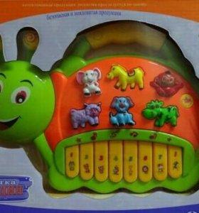 Музыкальное пианино Jialegu Toys