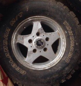Колеса r16 265/75/16 m/t lexus lx470/Toyota lc100