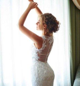 Свадебное платье от израильского дизайнера