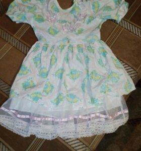 Красивоп платье для принцессы