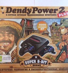 Dendy + 9999 встроенных игр(Новые)