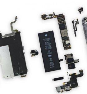 Apple iPhone шлейф кнопка динамик камера микрофон