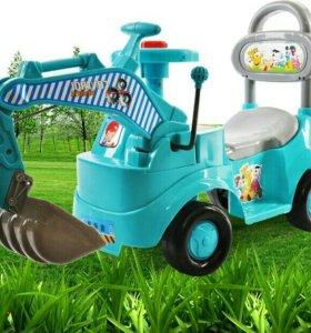 Машина детская экскаватор