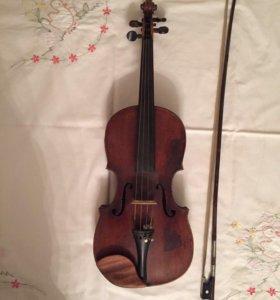 Скрипка немецкая 1872