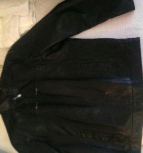 Куртка кожаная! Размер 8xL