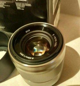 Объектив Sony 50mm 1.8 OSS SEL50F18 (Sony E)