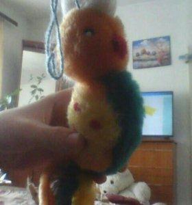 Игрушачный папугай зделаный своими руками