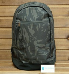 Качественный рюкзак Under Armour, серый защитный