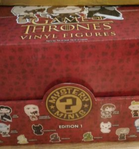 Funko pop mystery mini. Game of thrones edition 1