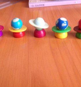 Мелкие игрушки из разных коллекций