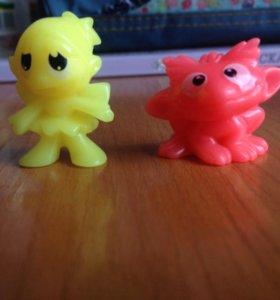 Мелкие игрушки из коллекций