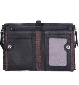 Портмоне бумажник кошелек натуральная кожа