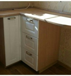 Кухонная угловая секция 90х90х38см