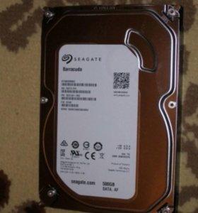 ST500DM002/500 гигабайт/7200.9 rpm/кэш 16 Мб