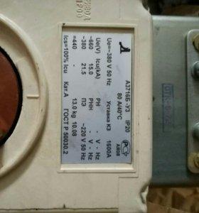 Автоматический выключатель А3726 выдвижной с эл. п