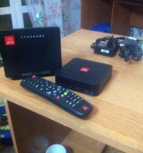 Роутер,и приставка ТВ