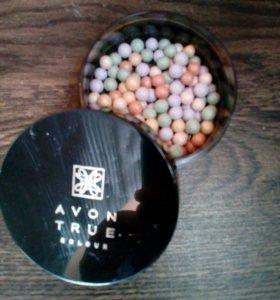 Пудра-шарики с коррект.эффектом