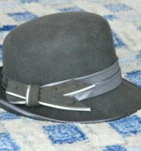 Шляпа фетровая, женская