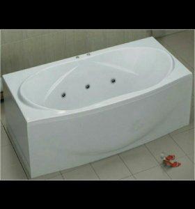 Новая. Гидромассажная ванна